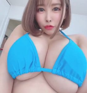 Natural big tits of Mion Hazuki