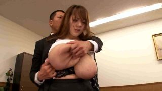 Busty japanese Hitomi Tanaka in the office