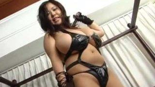 Fuko showing her huge asian breasts