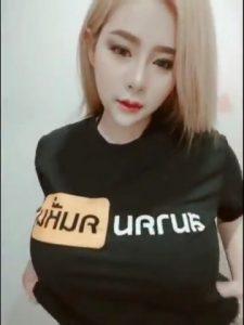 Pimpika Heeparkinson in black t-shirt