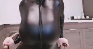Youyoulama black leather